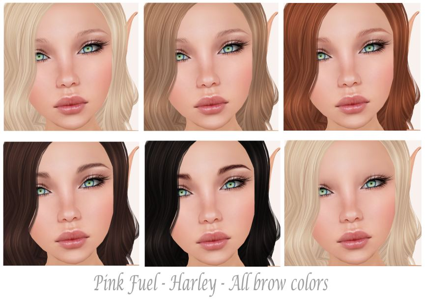 Pink Fuel Harley Brows