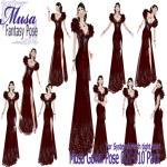 !Musa! Gown Pose001-010 pack - Kopie