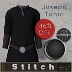 Stitched - male tunic black