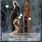 __B&C__ Arcane Skin Collection for We _3 RP