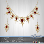 Fleur de Tillie - Jewelry Set - Gold (MultiJewel)