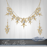 Fleur de Tillie - Jewelry Set - Gold