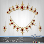 Fleur de Tillie - Princess Set - Gold (MultiJewel)