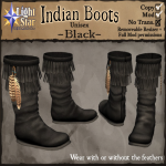 _LightStar-IndianBoots-Black