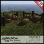 {RW} Straw Bales & Fencing Deco Kit