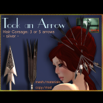Bliensen + MaiTai - Took an Arrow - Hair Corsage - 3 or 5 arrow 2