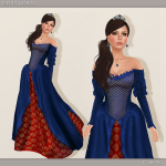 Iseult Gown - Blue