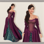 Iseult Gown - Violet