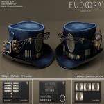 Eudora 3D Steampunk Dynamite Hat Main Blue