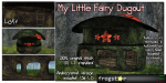 Frogstar - My Little Fairy Dugout Poster