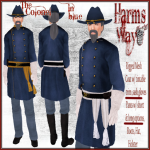 Harm's Way Colonel in blue ad