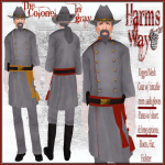 Harm's Way Colonel in gray ad