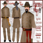 Harm's Way Colonel in tan ad