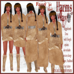 Harm's Way Fawn in tan ad