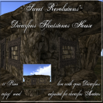 ~_SR_~ Dwarfins - Flintstone House BoxPIC