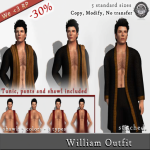 Stitched William outfit WE LOVE RP AD