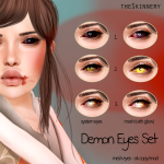 [theSkinnery] Demon Eyes Set AD