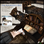 [Tia] Bookshelf Bed Poster