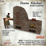 [V_W] Stone Kitchen Multi-Cooking AD