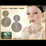 Bliensen + MaiTai - Voluta - Earrings Ad