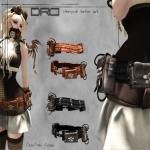 DRD- steampunk belt