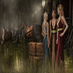 DRIFT FANTASY AD-The Royal Reign Dress-We Love RP Event Excl