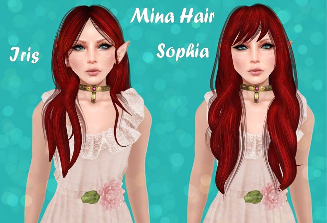 Mina Hair at Hair Fair 2014