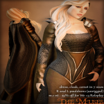 The Muses . My Lady - brown_silver . we _3 roleplay july