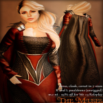 The Muses . My Lady - red_silver . we _3 roleplay july