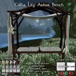 _OAL___SP_ Calla Lily Arbor Bench