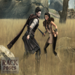 RACK Poses - Battle Scars Ad