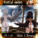 [][]Trap[][] Riven Wings S&Br 50% off