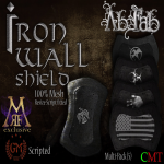 [Ab.Fab] Iron Wall Shield Poster MRF