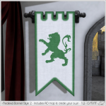 Alouette - Medieval Banner Style 2 (AD)