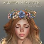 Arianwen Wreath - Blue 512