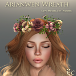 Arianwen Wreath - Brown 512