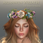 Arianwen Wreath - Green 512