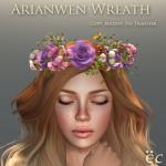 Arianwen Wreath - Pink 512