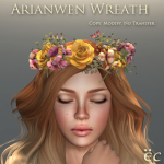 Arianwen Wreath - Yellow 512