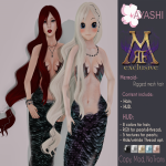[^.^Ayashi^.^] Mermaid  hair