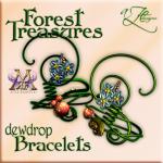 AZE Forest Treasures Dewdrop Bracelets Poster MRF 512