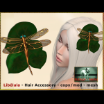 Bliensen - Libelula - Hair Accessory Ad 2