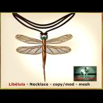 Bliensen - Libelula - Necklace Ad
