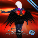BP - Freyja Wings - Black
