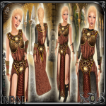 Brienne Red Outfit - Sweet Lies jpg