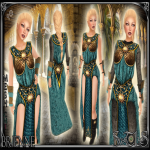 Brienne Teal Outfit - Sweet Lies jpg