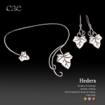 Cae - Hedera Necklace & Earrings