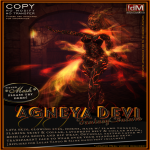 !dM deviousMind _Agneya Devi_ Fire Demon Avatar