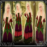 Dorothea Red Outfit - Sweet Lies jpg