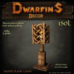 Dwarfins 1 prim Floor Lamp